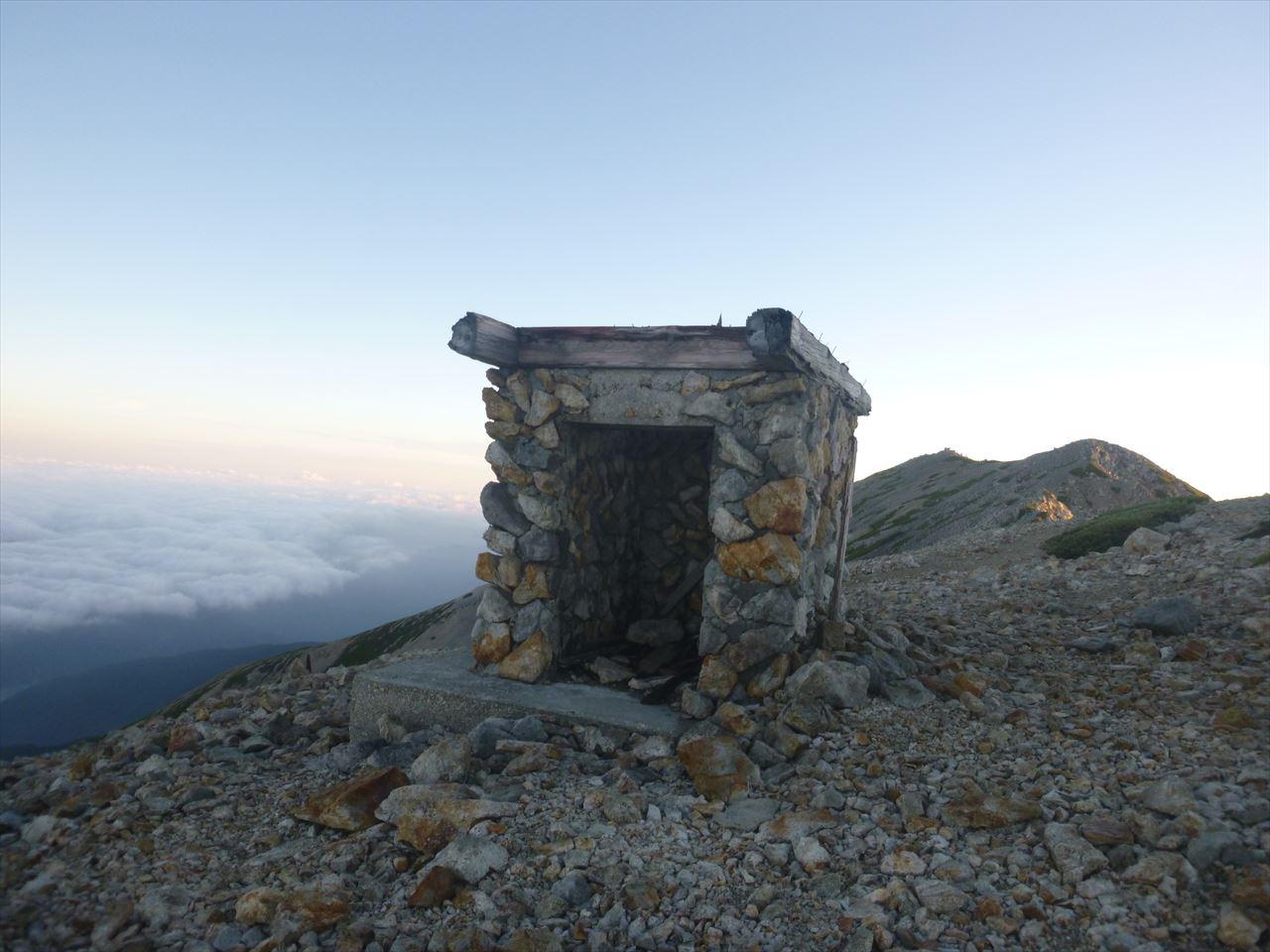 雲の平登山30