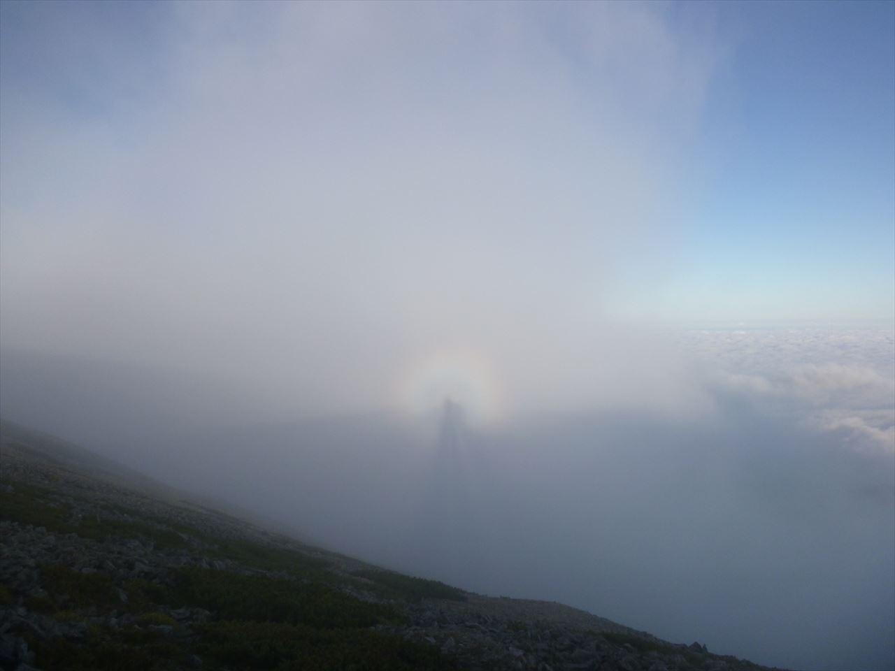 雲の平登山33