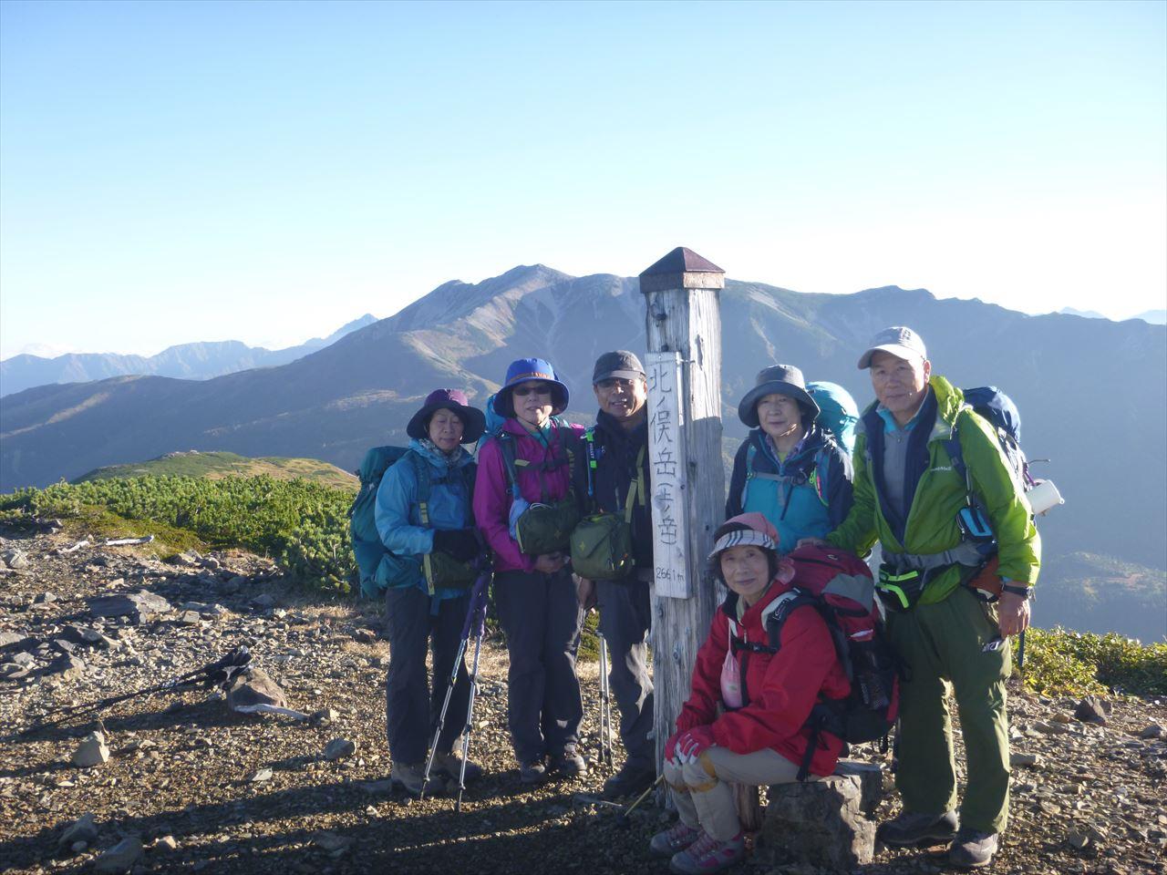 雲ノ平登山4