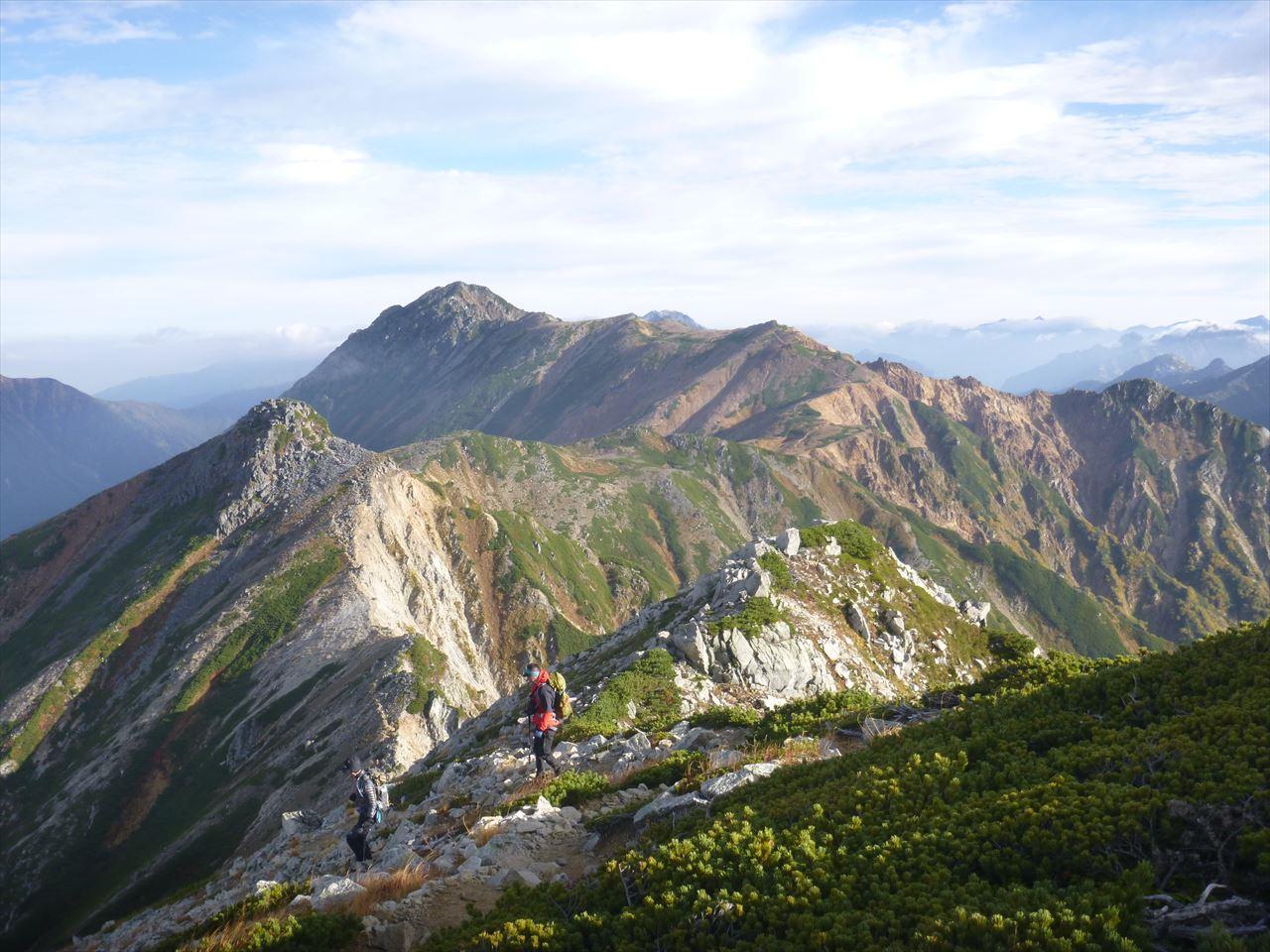 雲ノ平登山12