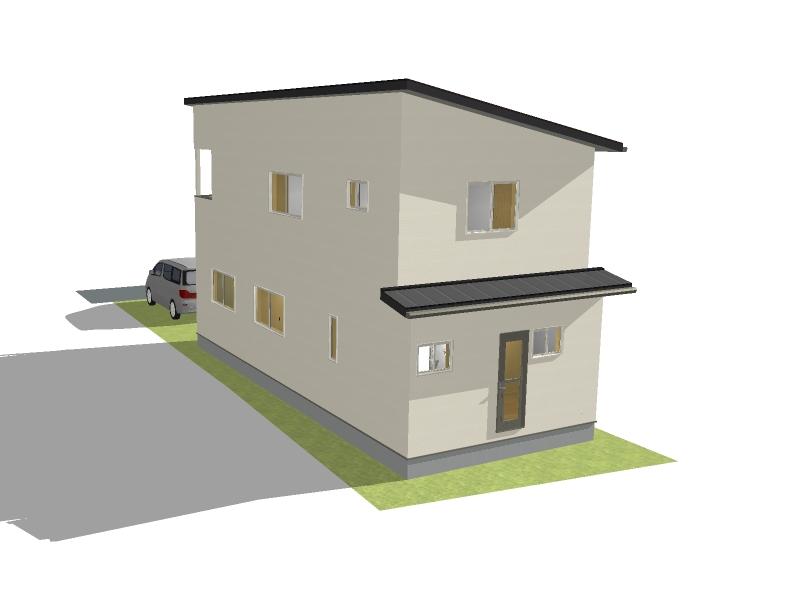 完成外観イメージ画像(※実際の建物と異なる場合があります。)
